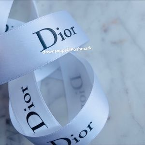 Dior classic wrapping ribbon